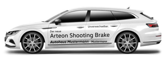 VW Arteon Shooting Brake ECO