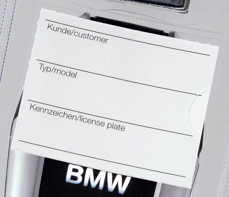 """Ersatzetiketten für Schlüsseltasche """"Display-Key"""" I 1VE = 100 Stk."""