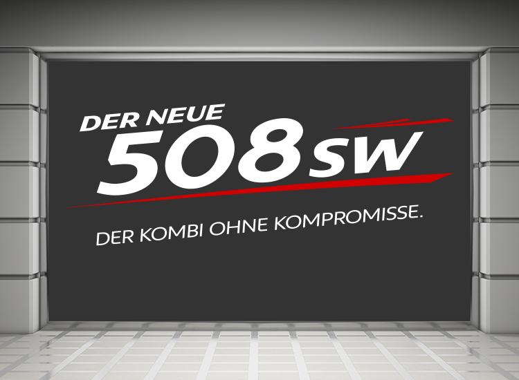 Peugeot 508 SW Schaufenster 01