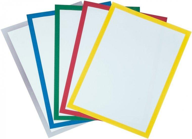Farbige Passepartouts im DIN A4 Format I VE = 50 Blt.