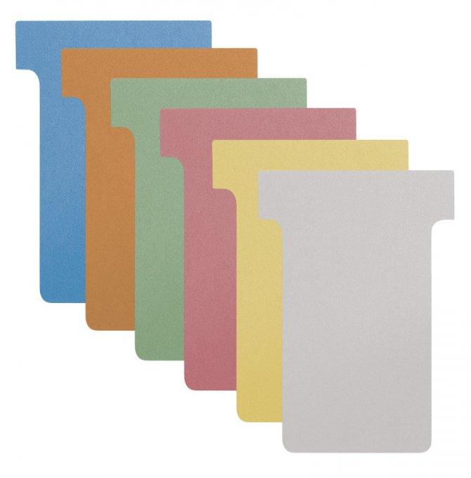 """T-Karten für alle T-Card Systemtafeln I Größe """"M"""""""