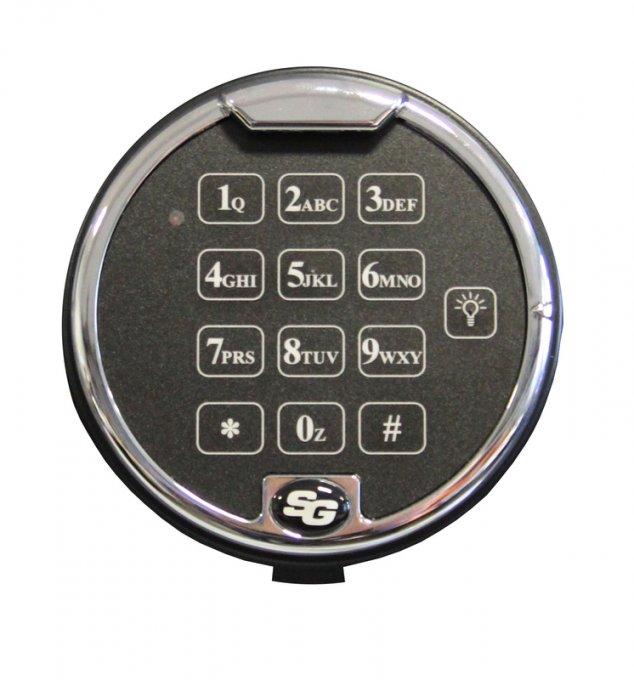 Elektronikschloß für Schlüsseltresore