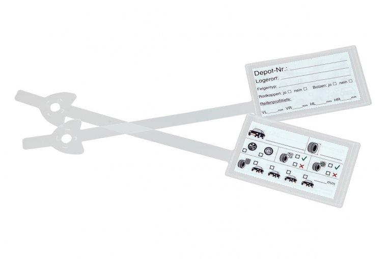 Rad-/Reifenanhänger I VE = 100 Stk.