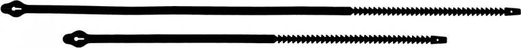 Ersatzschlaufe für Radanhänger 80 cm lang I 1VE = 100 Stk.