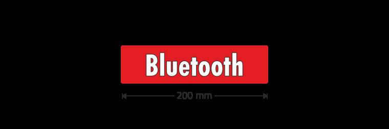 "Ausstattungsaufkleber ""Bluetooth"""