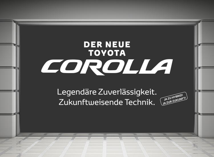 Toyota Corolla Schaufenster 01