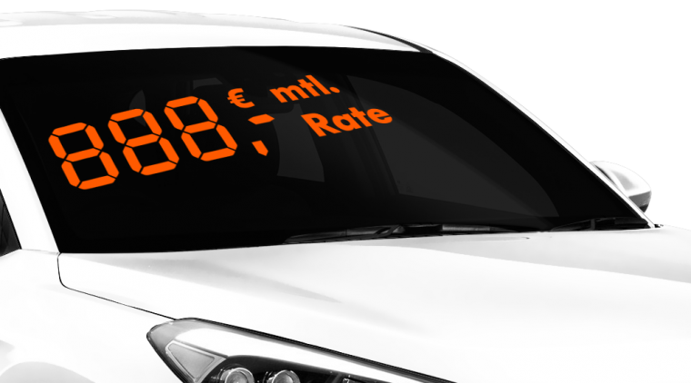 "Digitale Preiszahlen ""mtl. Rate"""