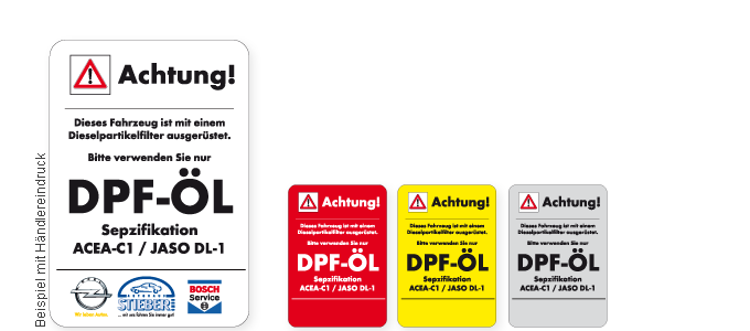 DPF Öl 45x65 mm