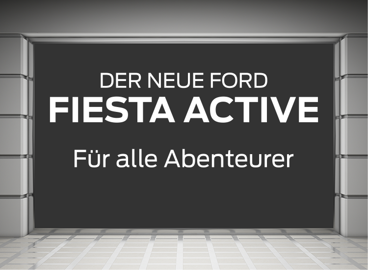 Ford Fiesta Active Schaufenster 01