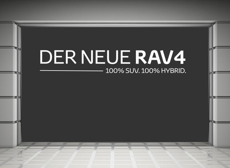 Toyota RAV4 Hybrid Schaufenster 01
