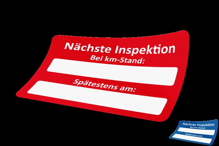 Nächste Inspektion