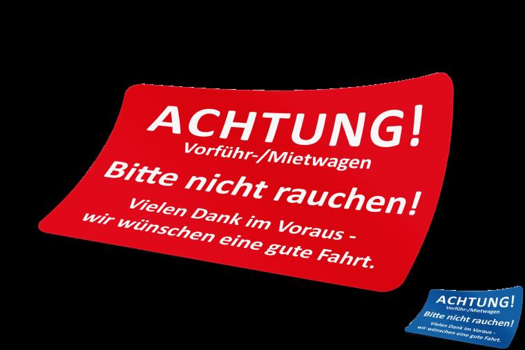 ACHTUNG! Vorführ-/Mietwagen