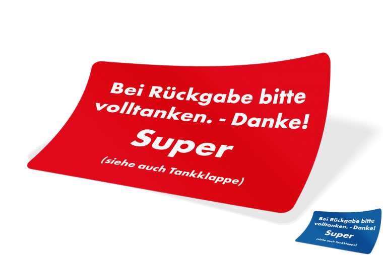 Volltanken – Super