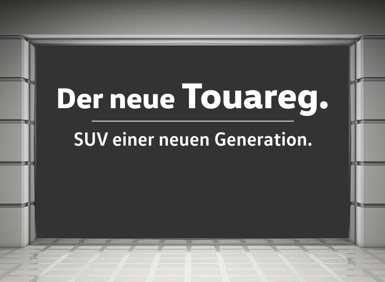 VW Touareg Schaufenster 01