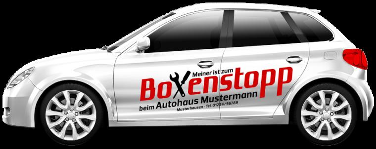 """Werkstattersatzwagen """"Boxenstopp"""""""