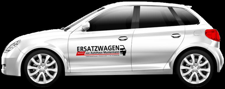 """Werkstattersatzwagen """"Ersatzwagen"""""""