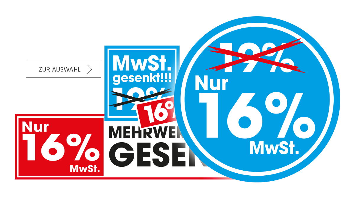 Slide 38 - MwST Senkung Aktion 16%