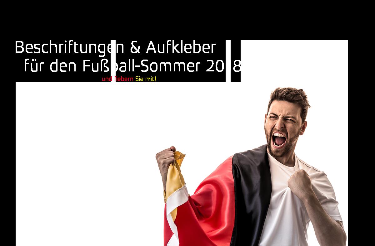 Fußball Sommer 2018